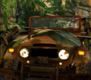 Vehículos de Uncharted: El Abismo de Oro