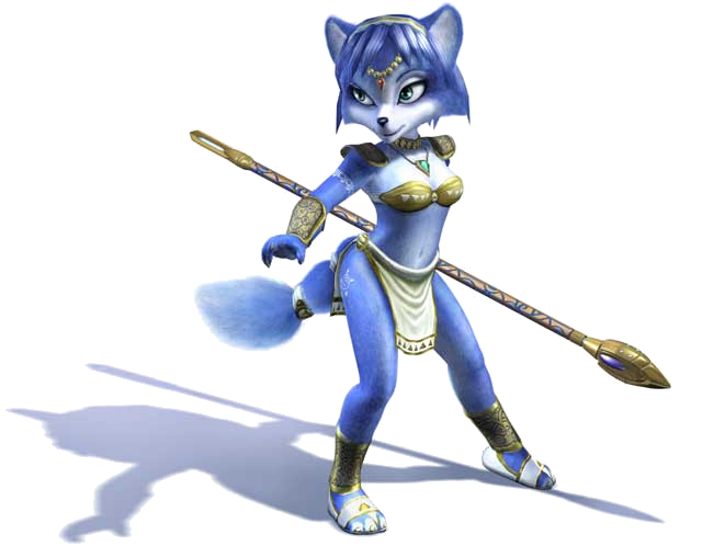 Ultimate Multiverse Heroes Tournament Krystal_Artwork_1_-_Star_Fox_Adventures