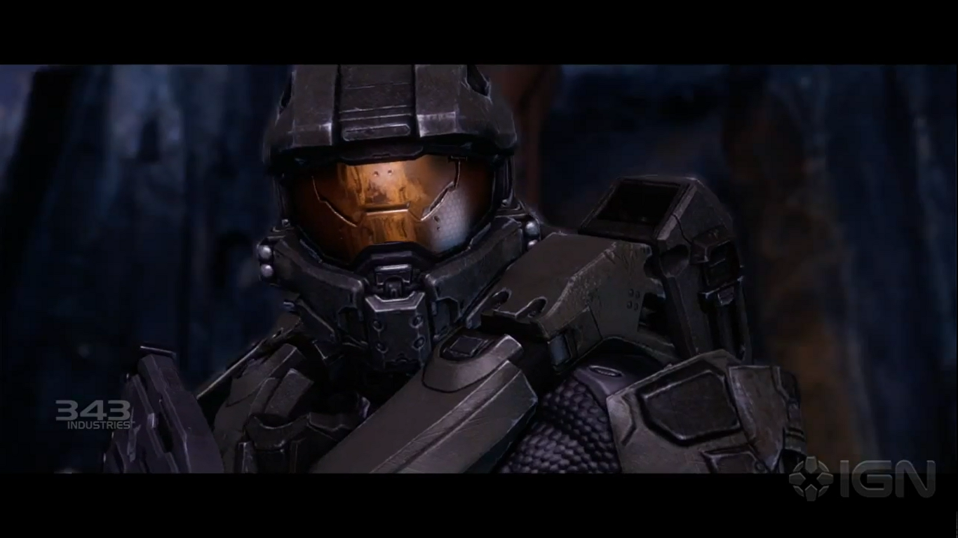 Halo 4 Master Chiefs Face Video Chat