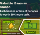 Valuable Bananas