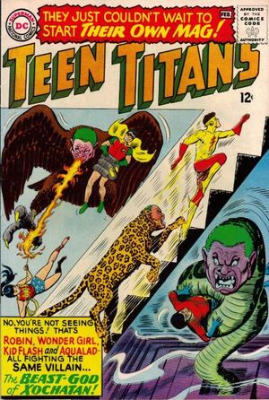 Cover for Teen Titans #1 (1966)