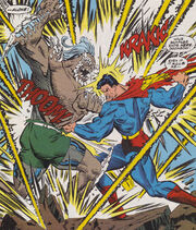 Superman Battles Doomsday