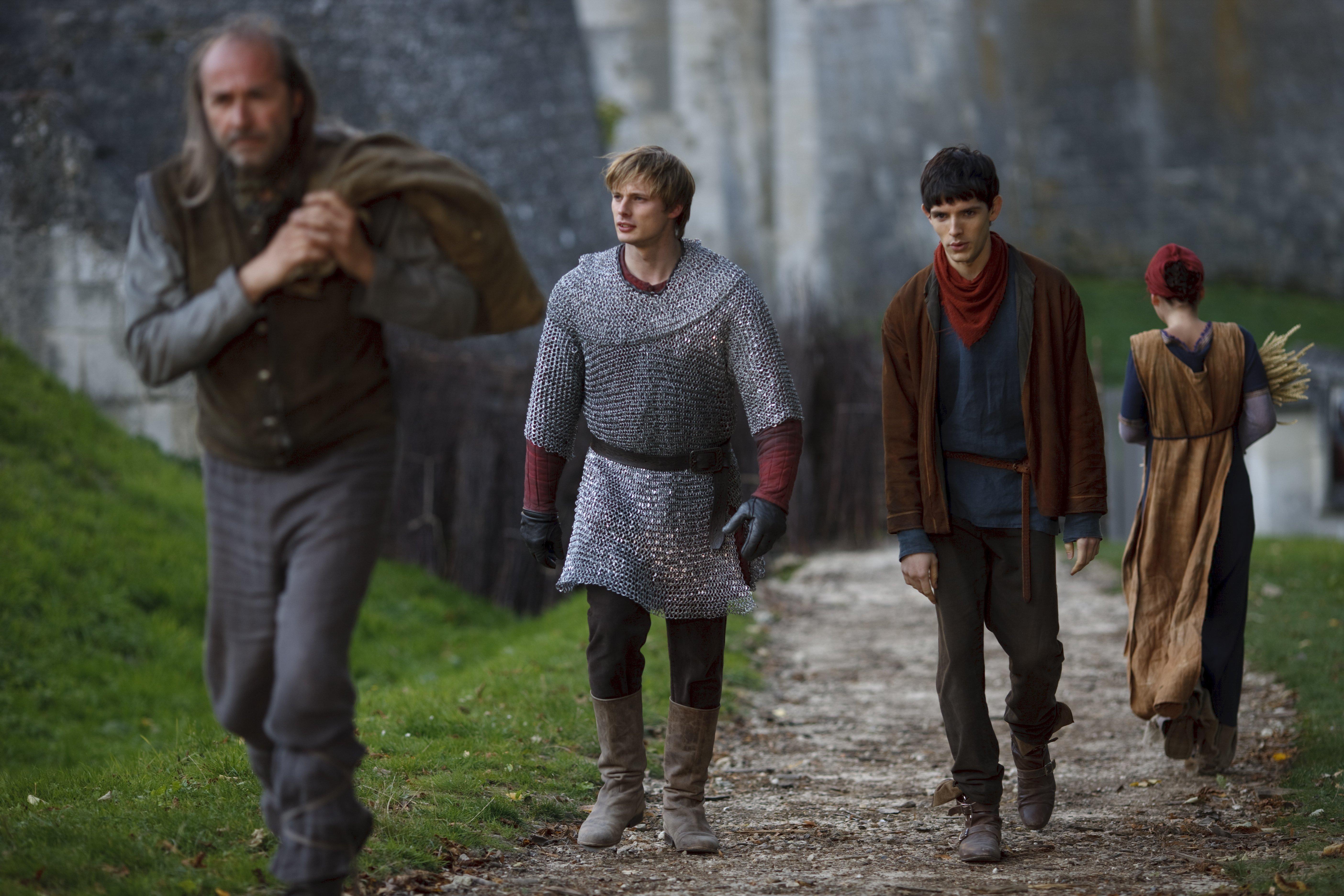 File Arthur and Merlin jpgKing Arthur And Merlin