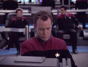 Paris steuert die Voyager durch die Subraumvakuolen