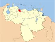 Venezuela Carabobo State Location svg.png
