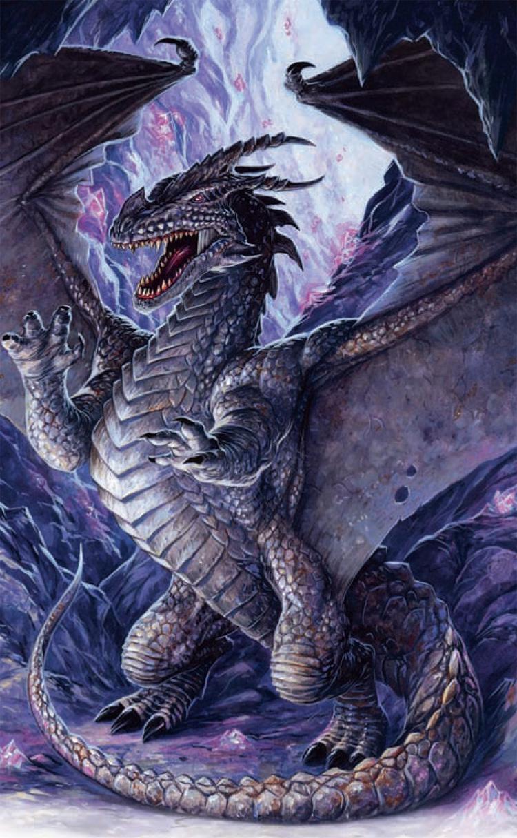 Iron Dragon The Forgotten Realms Wiki Books Races