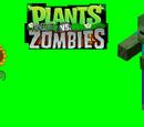 Plants vs. Minecraft Zombies
