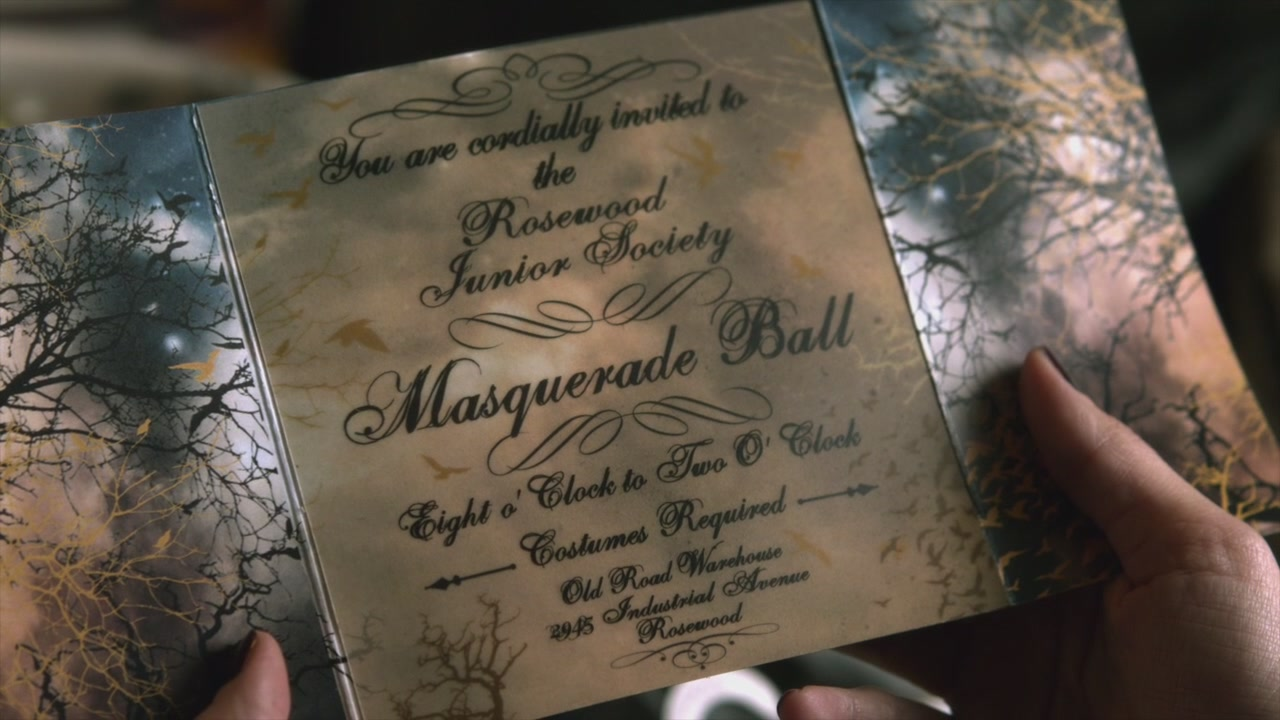 Masked Ball Invitations with nice invitation example