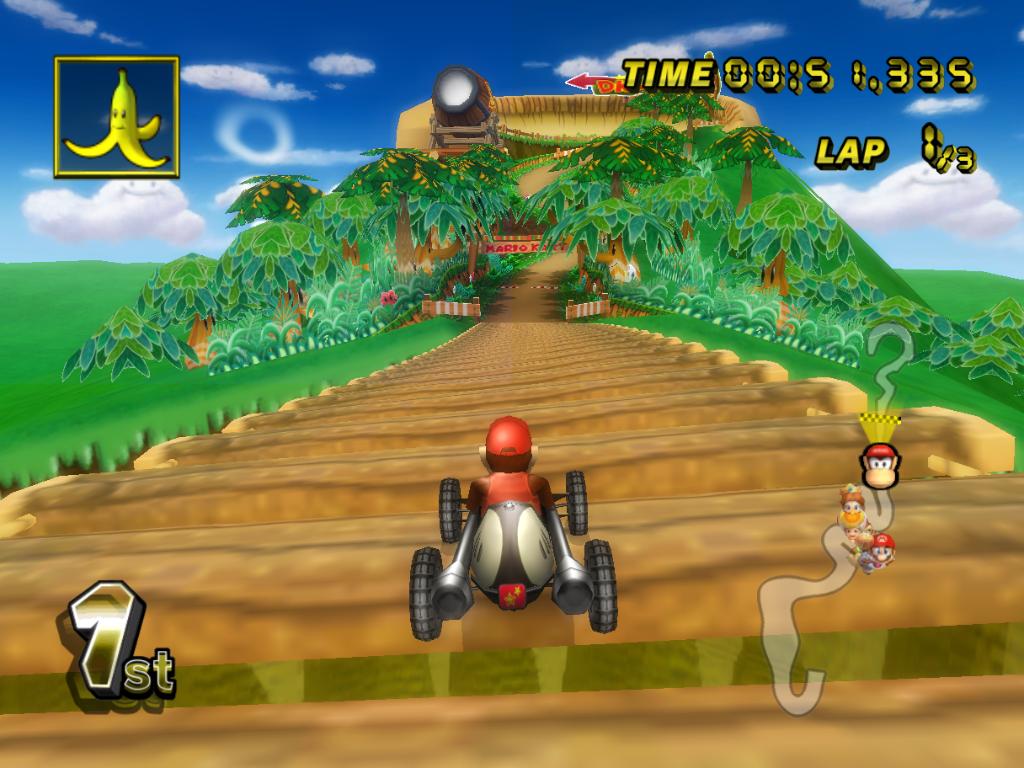 Image Dk Mountain Bridge Mario Kart Wii Png