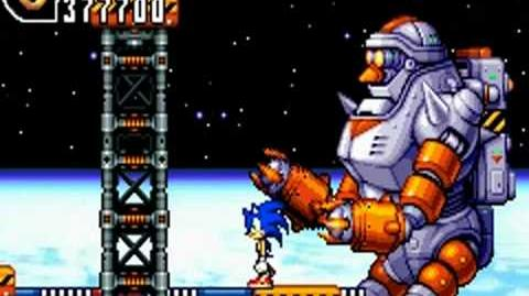 Sonic Advance 2 (GBA) Final Zone
