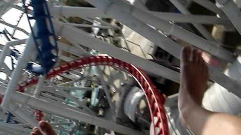 Battlestar Galactica The Ride - Cylon Side (First Person View)