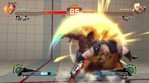 Super Street Fighter 4 - Dee Jay Ultra 1 Sobat Festival