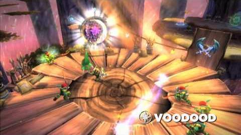 meet the skylanders voodood series
