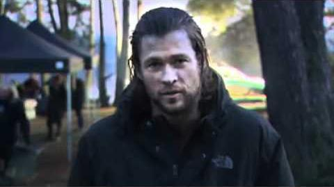 Chris Hemsworth (TVNZ) introducing the