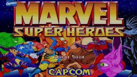 Marvel Super Heroes Arcade Intro