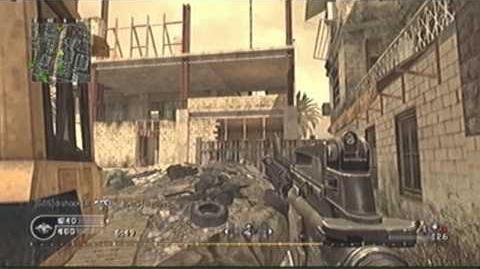 Karabiny automatyczne w Call of Duty 4: Modern Warfare