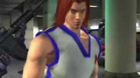 Tekken 4 hwoarang ending!