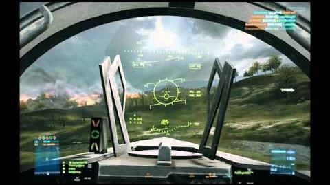 Battlefield 3 - Multiplayer Aerial Combat - Heatseekers and Extinguisher