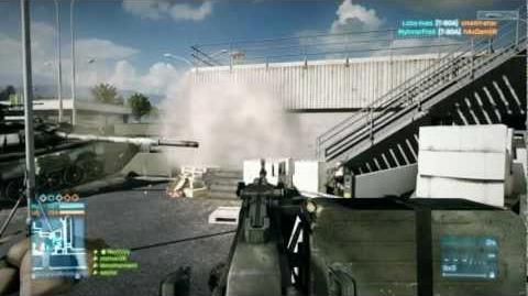 Battlefield 3 Beta - Ground Vehicle Combat on Caspian Border HD
