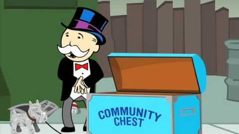 Monopoly Man Goes Bankrupt
