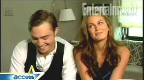Ed Westwick Leighton Meester - With me