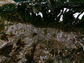 Caracas, Venezuela satelite.jpg