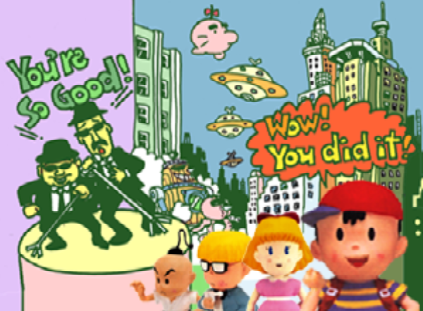 SSB_Ness_Ending.png Earthbound Runaway Five