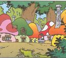 Locations in the Smurfs cartoon show
