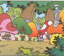 Smurfs Comic Book Universe