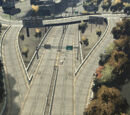 Freeways in Liberty City in HD Universe