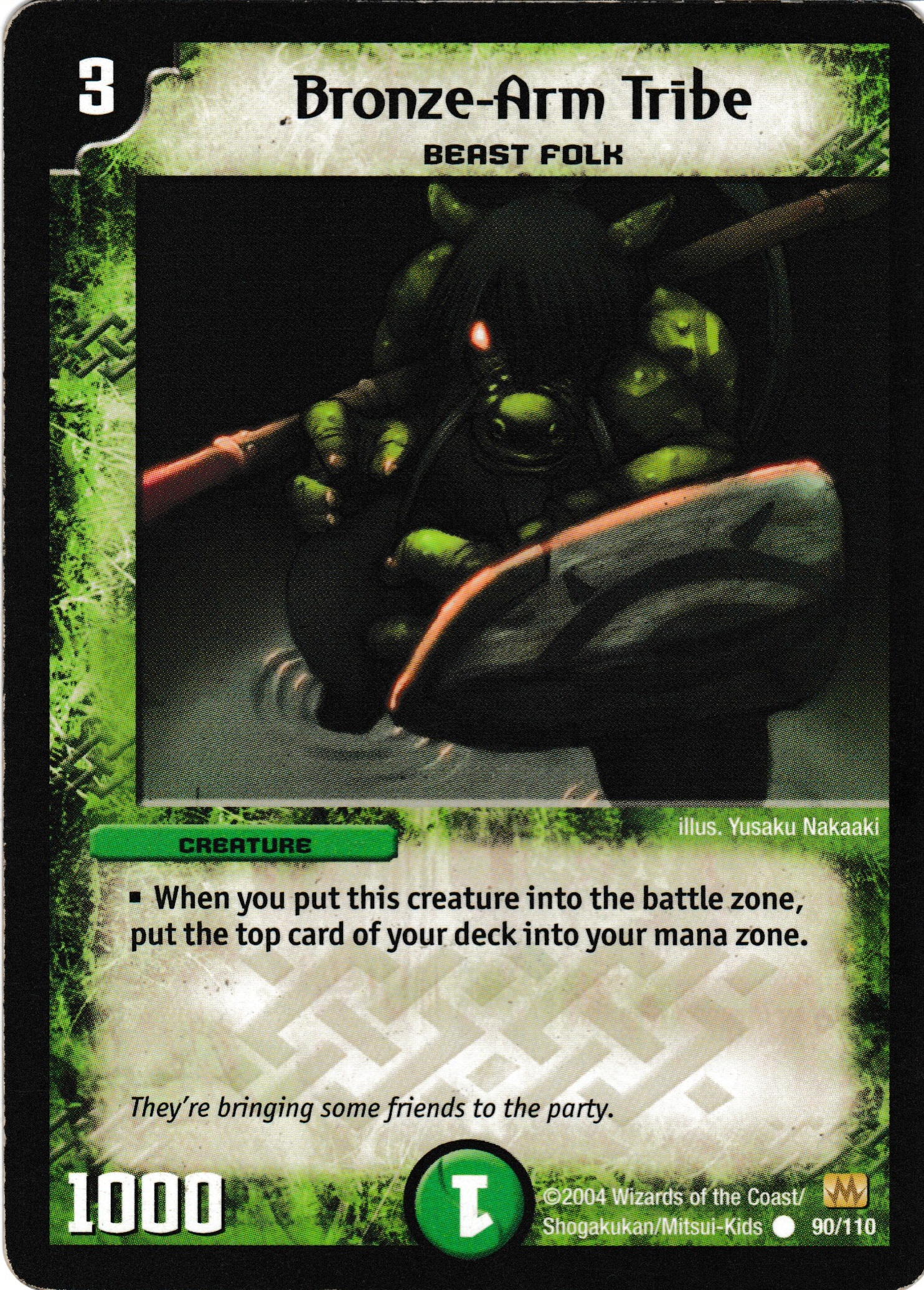 DM-01 Base Set - Käyttökelpoisimmat kortit Bronze-Arm_Tribe
