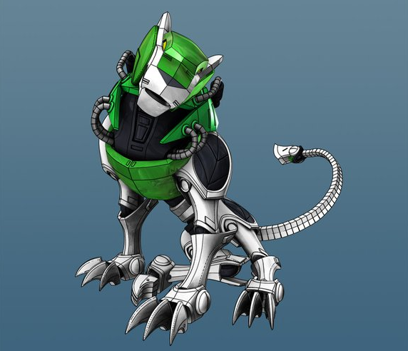 Green Lion (Voltron Force) - Voltron Wiki