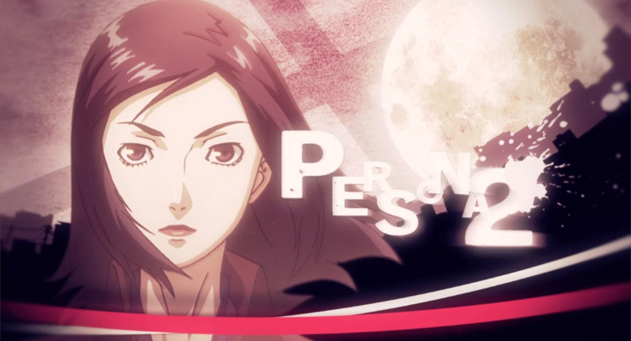 Protagonist Persona 2 Maya in The Persona 2 Eternal