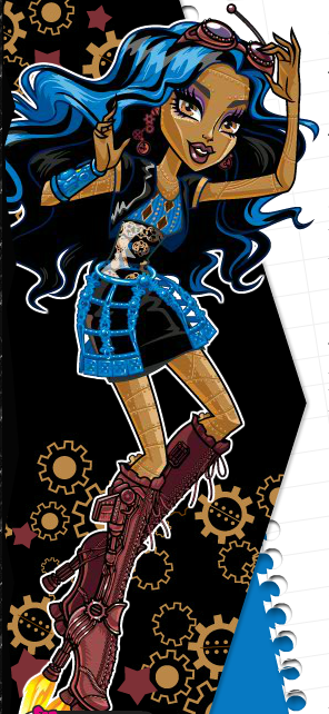 Imagen robecca wiki monster high - Robecca steam monster high ...
