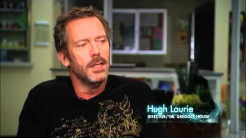 """HOUSE - Hugh Laurie Directs """"The C-Word"""""""