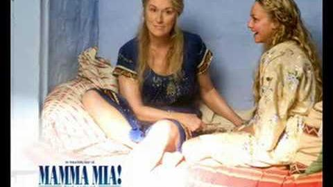 Mamma Mia! Movie Soundtrack- Slipping Through My Fingers