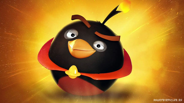 Bomb Bird Space Angry-birds-space Bomb