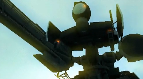 Gear Zeke Zeke's Upper Frame Metal Gear