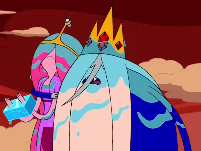 Ice King And Princess Bubblegum Image - S2e24 ice king...