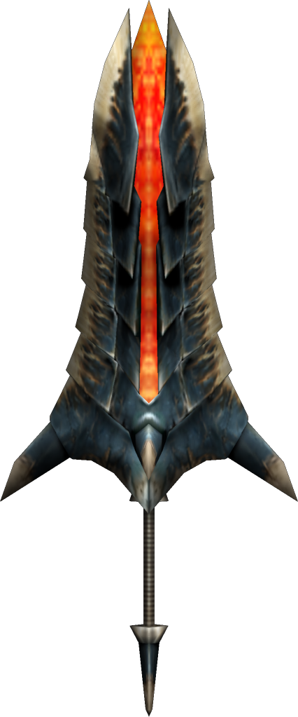 2ndGen-Great Sword Render 004Greatsword Monster Hunter