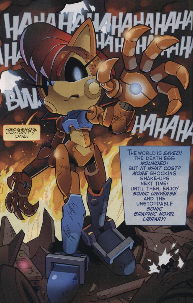 Mecha Sally Mobius Encyclopaedia Sonic The Hedgehog Comics