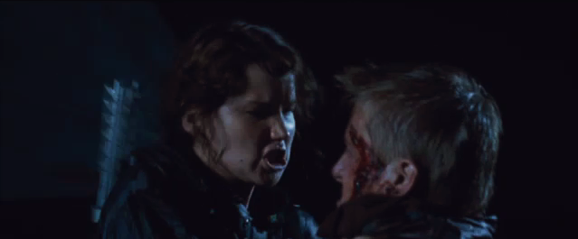 Image katniss fighting cato png the hunger games wiki
