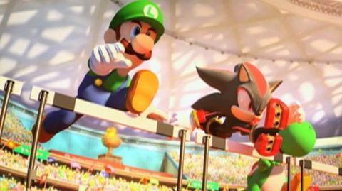 Mario And Sonic At The Olympic Games (VG) (2007) - Clip Hurdles