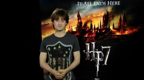 Harry Potter and the Deathly Hallows Part 1 (2010) - Behind The Scenes Daniel Radcliffe Asks You To Join The Final Battle