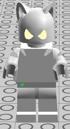 Black Cat With White Paws Lego Marvel