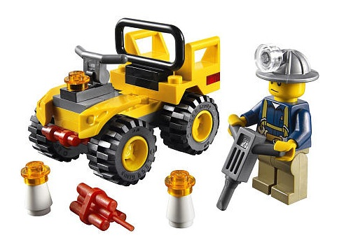 lego city gold mine instructions
