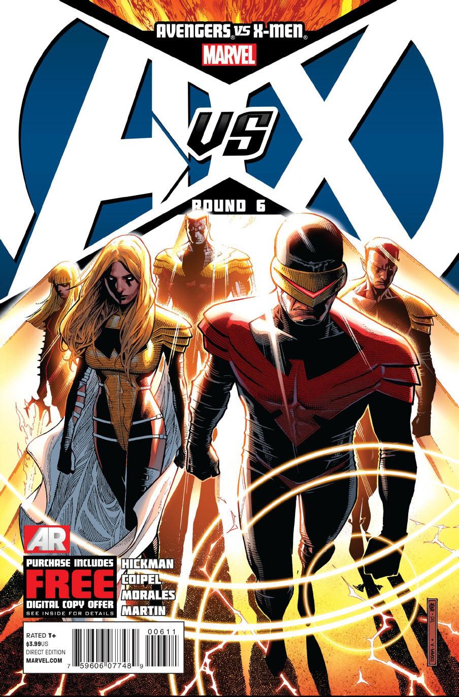 Avengers vs. X-Men Vol 1 6 - Marvel Comics Database
