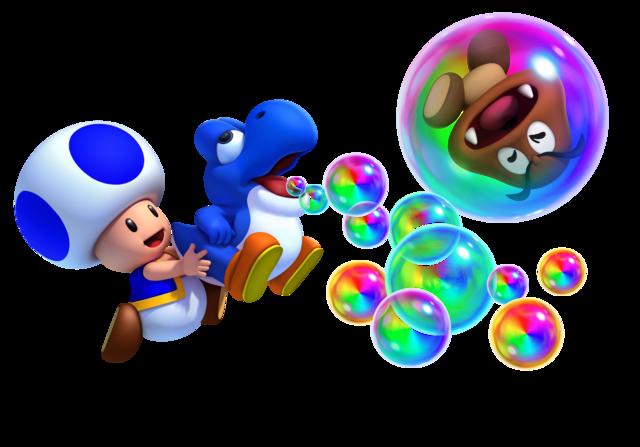 Guía New Super Mario Bros U Toad_azul_y_beb%C3%A9_yoshi_azul