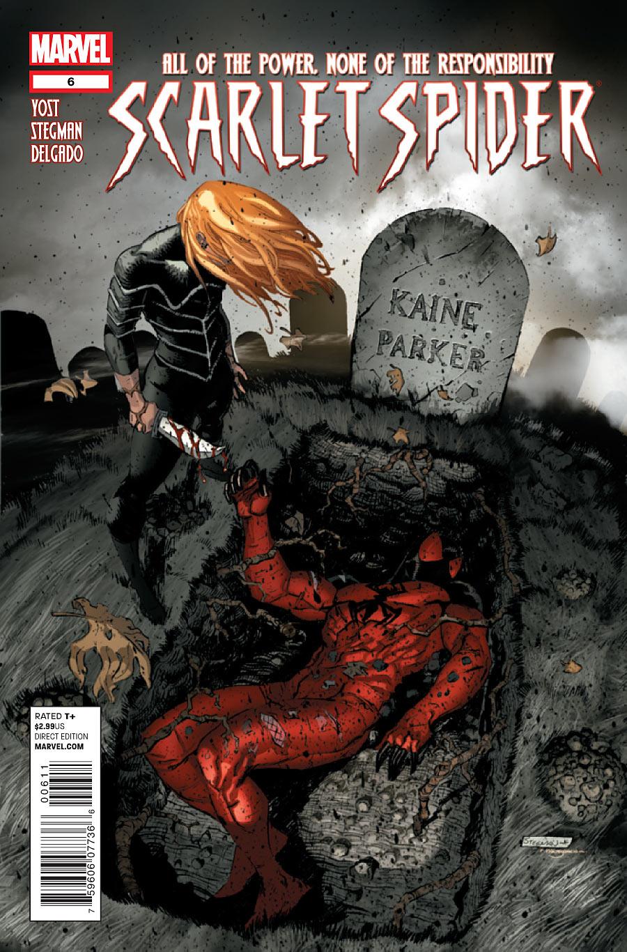 scarlet spider vol 2 6 marvel comics database. Black Bedroom Furniture Sets. Home Design Ideas