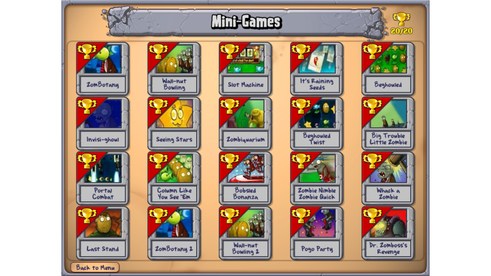 Image mod mini games png plants vs zombies wiki the free plants
